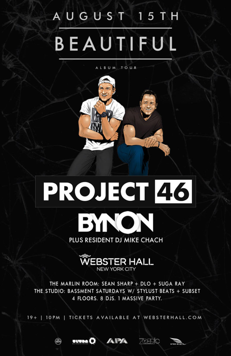 Event Spotlight: This Weekend At Webster Hall NYC - Felix Jaehn and Project 46