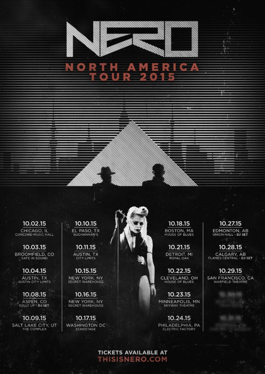 Nero NA tour