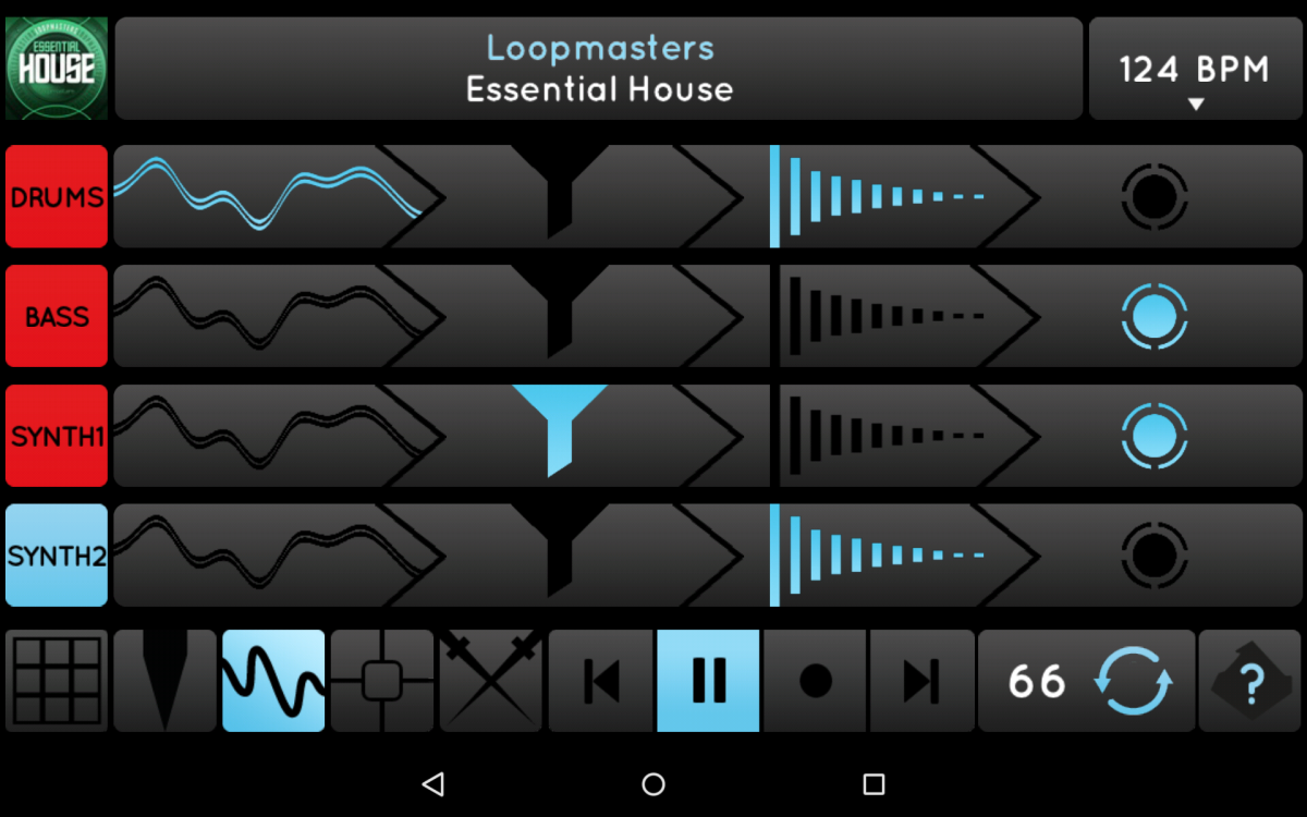 Ninja Jamm Android 10-DJ FX