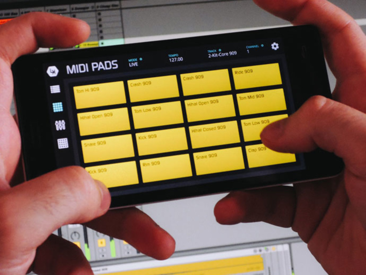 LK Ableton Live Controller For iOS and Android