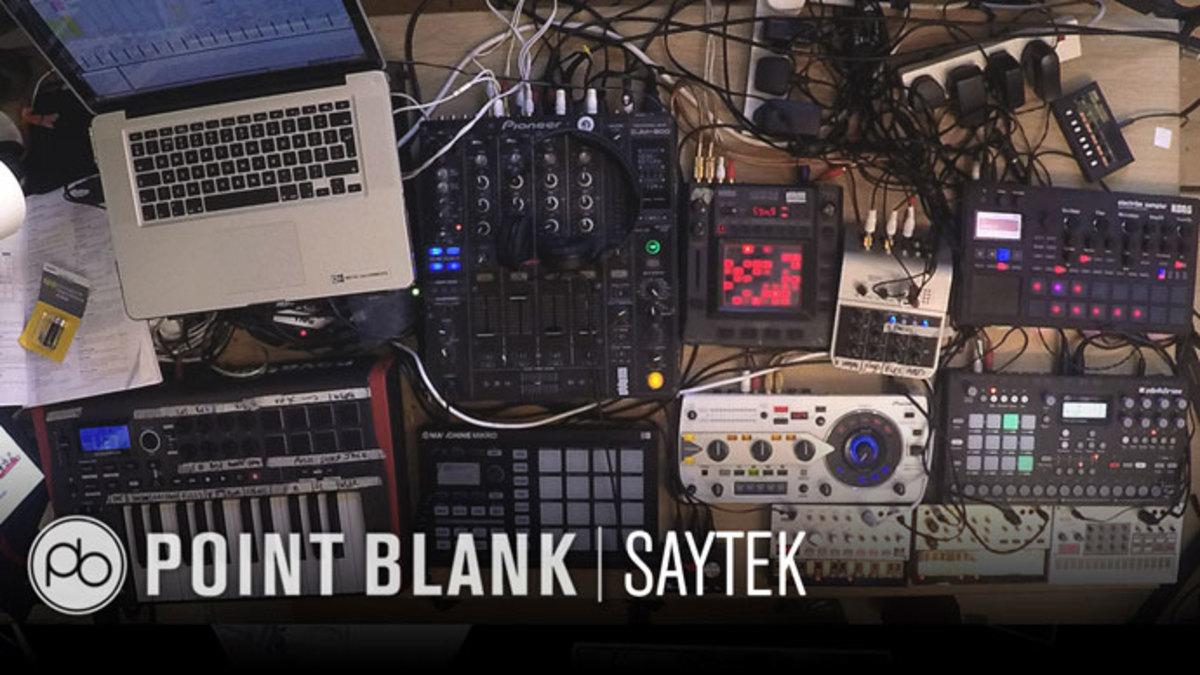Saytek: Live Performance Masterclass