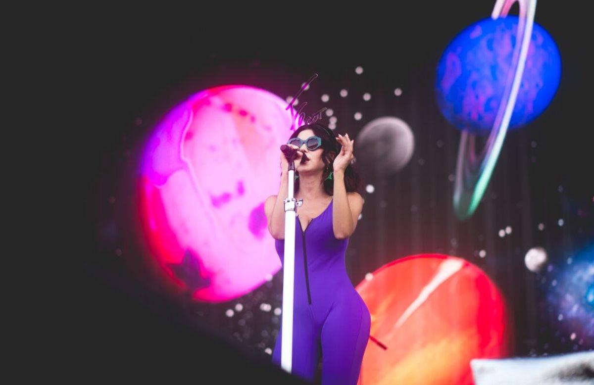 Marina & The Diamonds at Sziget Fest