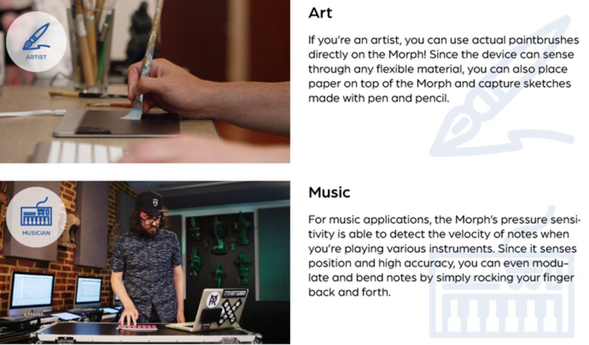 Sensel Morphg art and music