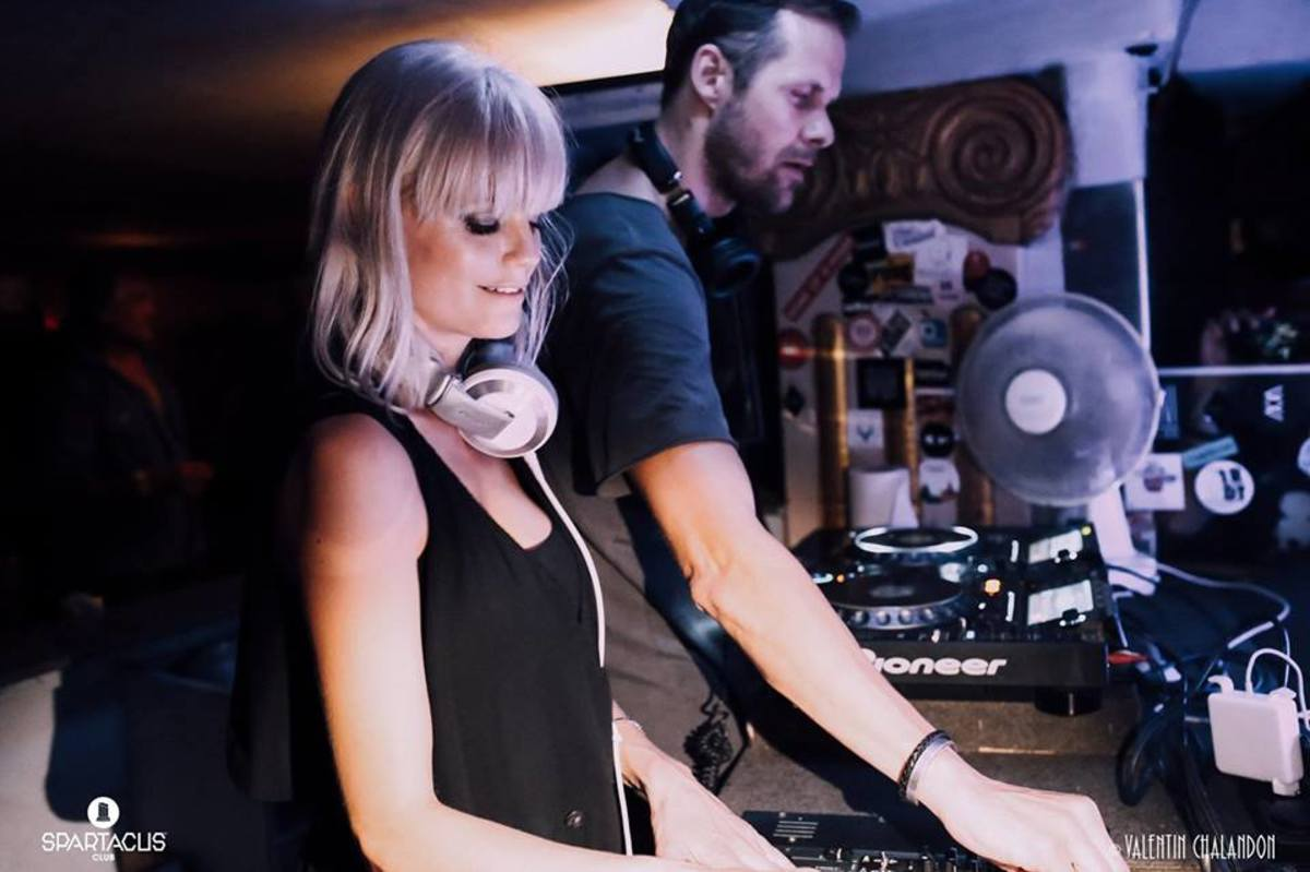 Ida Engberg and Adam Beyer