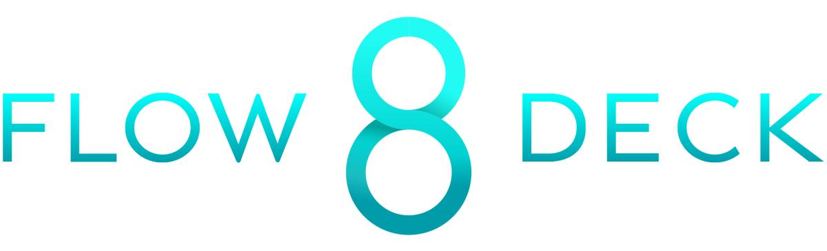 Flow 8 Deck logo