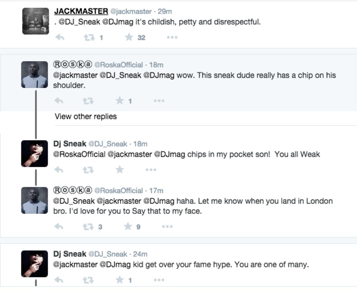DJ sneak jackmaster roska