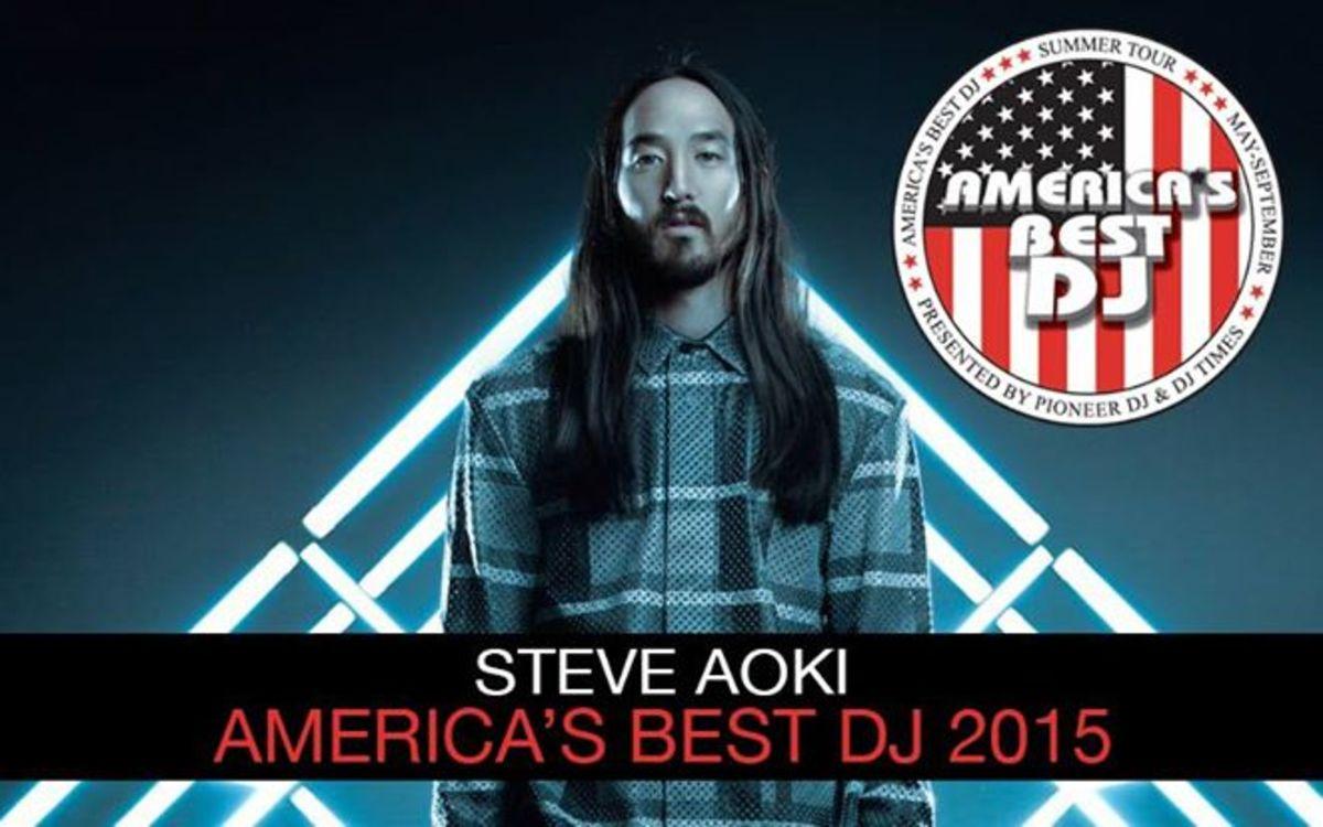 america's best DJ steve aoki
