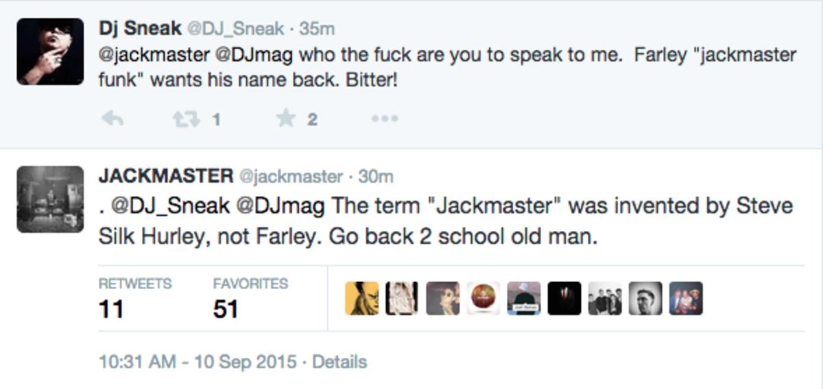 DJ Sneak roska jackmaster