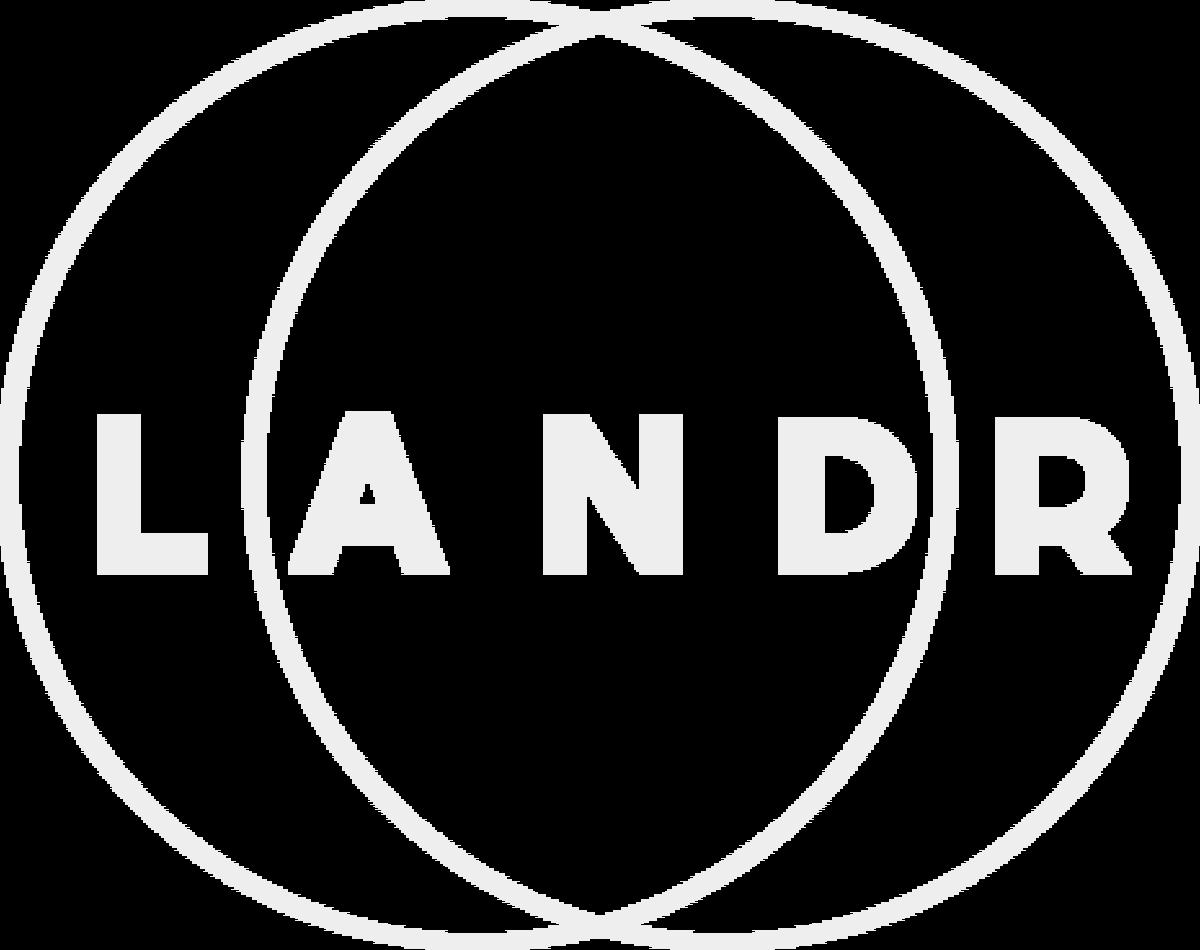 LANDR Logo Online Track mastering