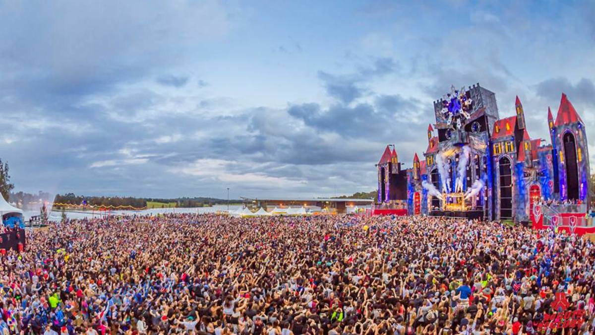 Defqon 1 Australia crowd