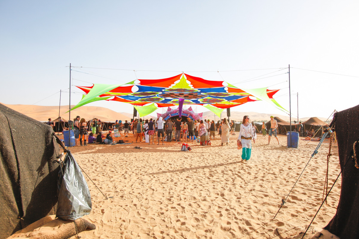 Desert Tent Transahara party