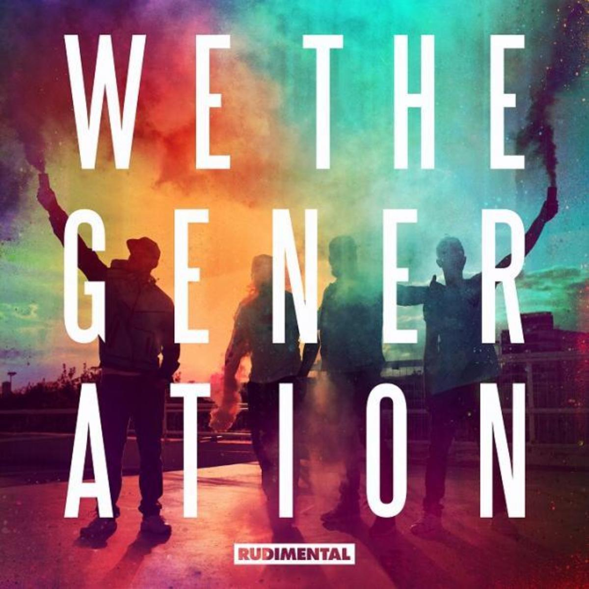 rudimental album cover We The Generation