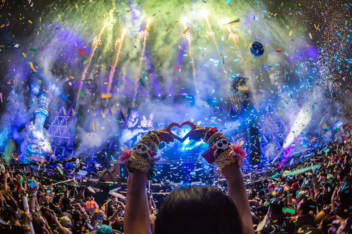 Nocturnal Wonderland 2015. Credit: aLive Coverage.