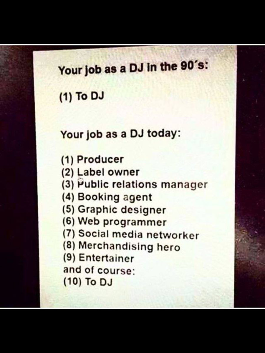What it means to be a DJ