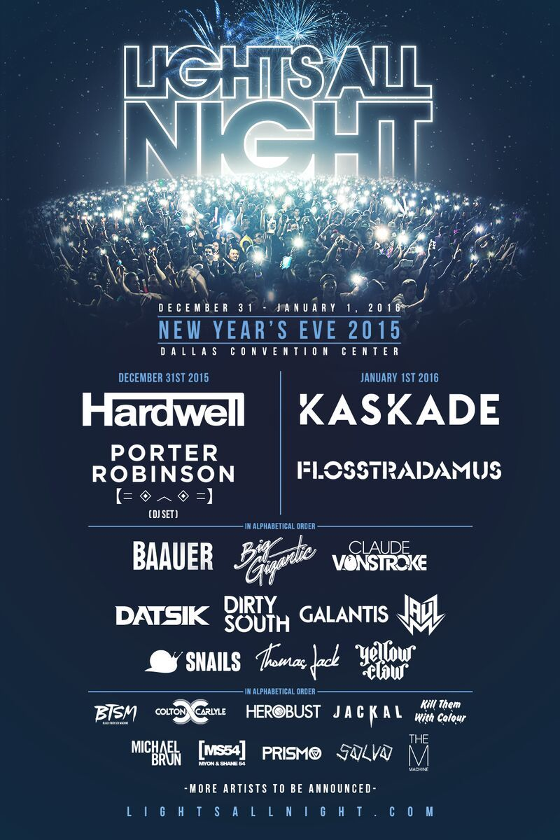 Lights All Night Adds 3rd Wave Of Talent