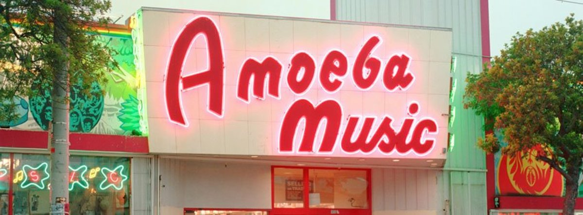 Amoeba San Fransisco SF
