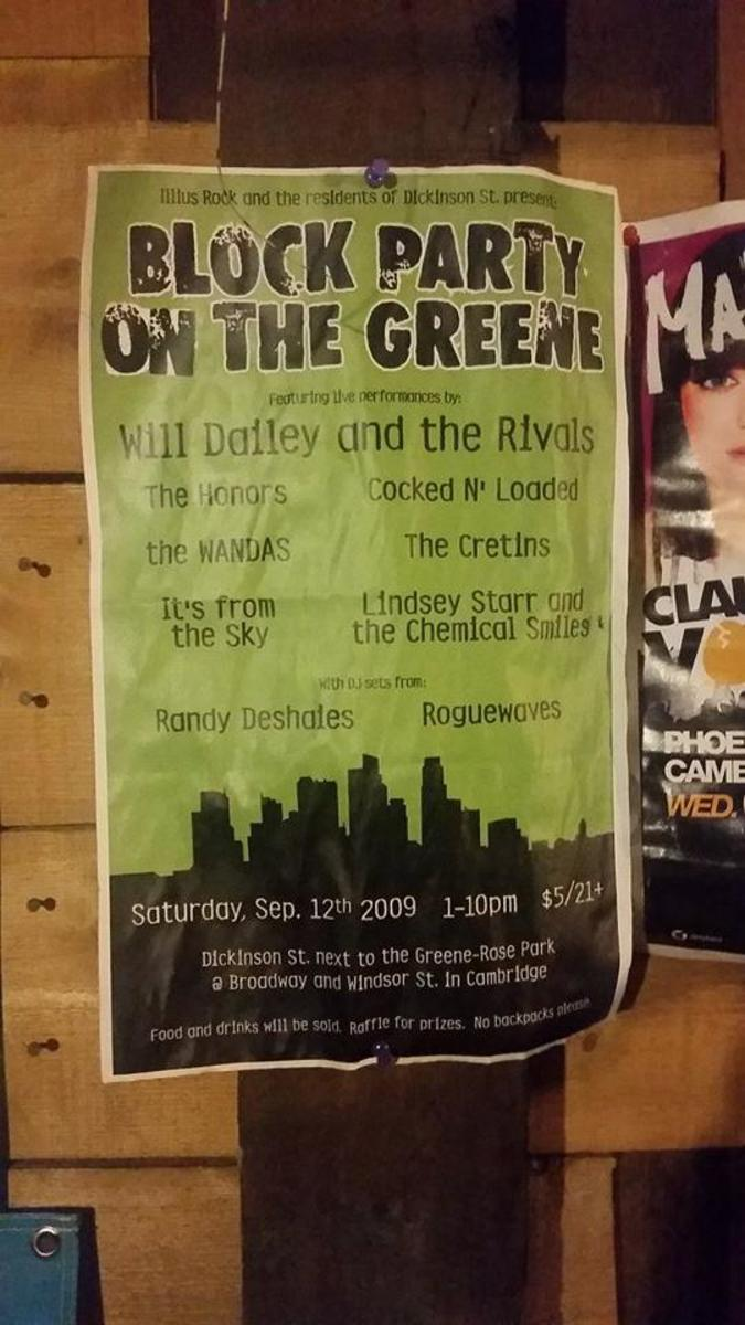 Dancing on the Green Flyer