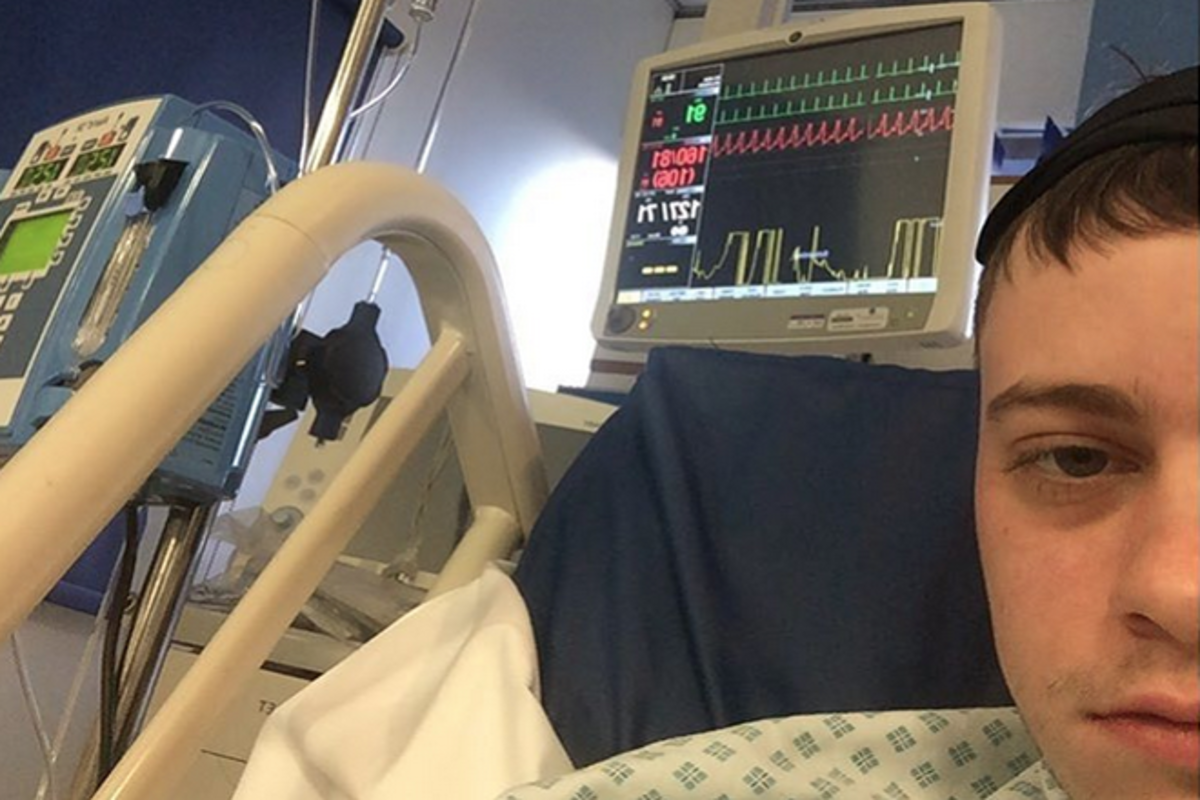 Rustie Produces And Shares A New Track Straight From His Hospital Bed Magnetic Magazine