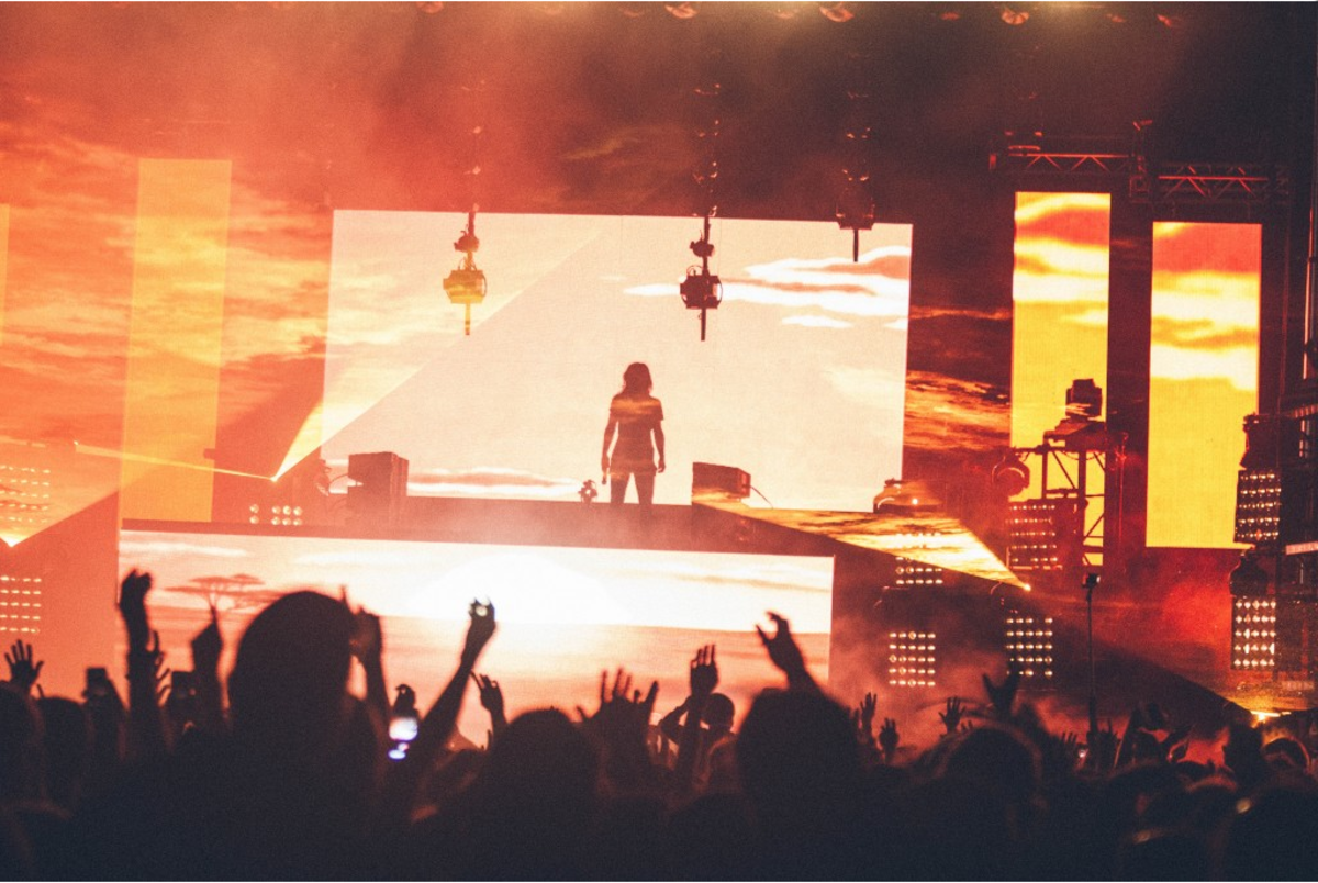 skrillex at Voodoo fest 2014