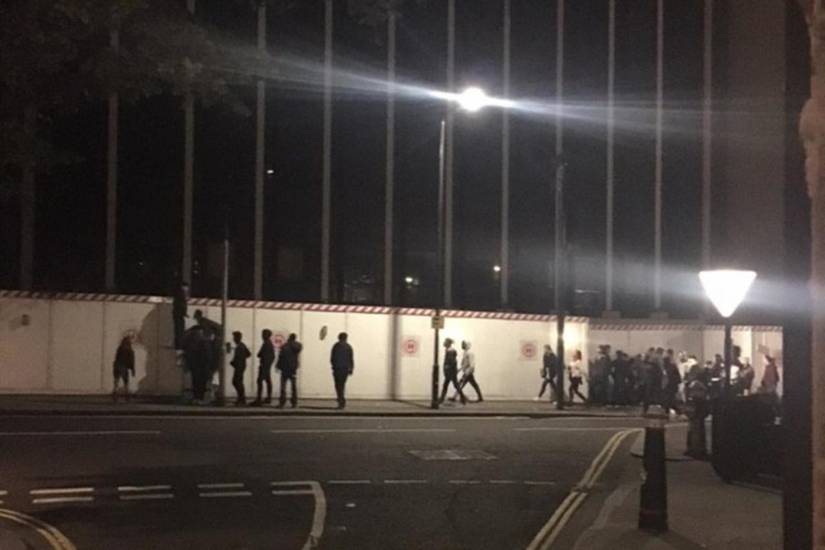 illegal rave in london