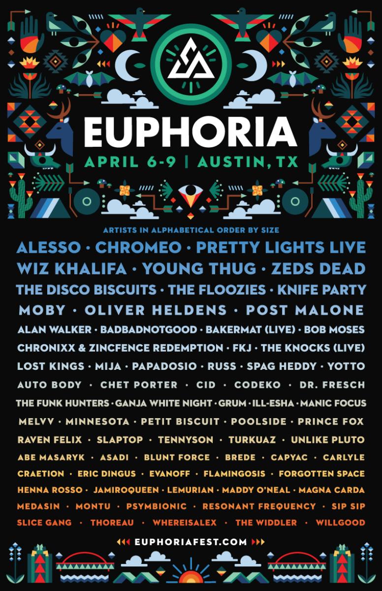 euphoria 2017 lineup