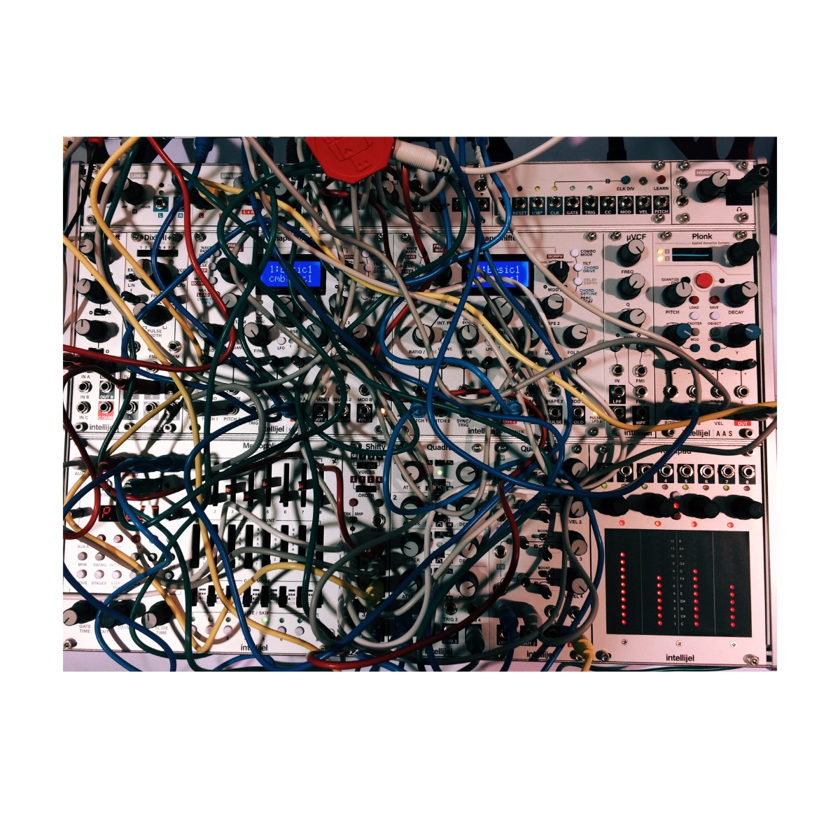 Modular Synth Spaghetti