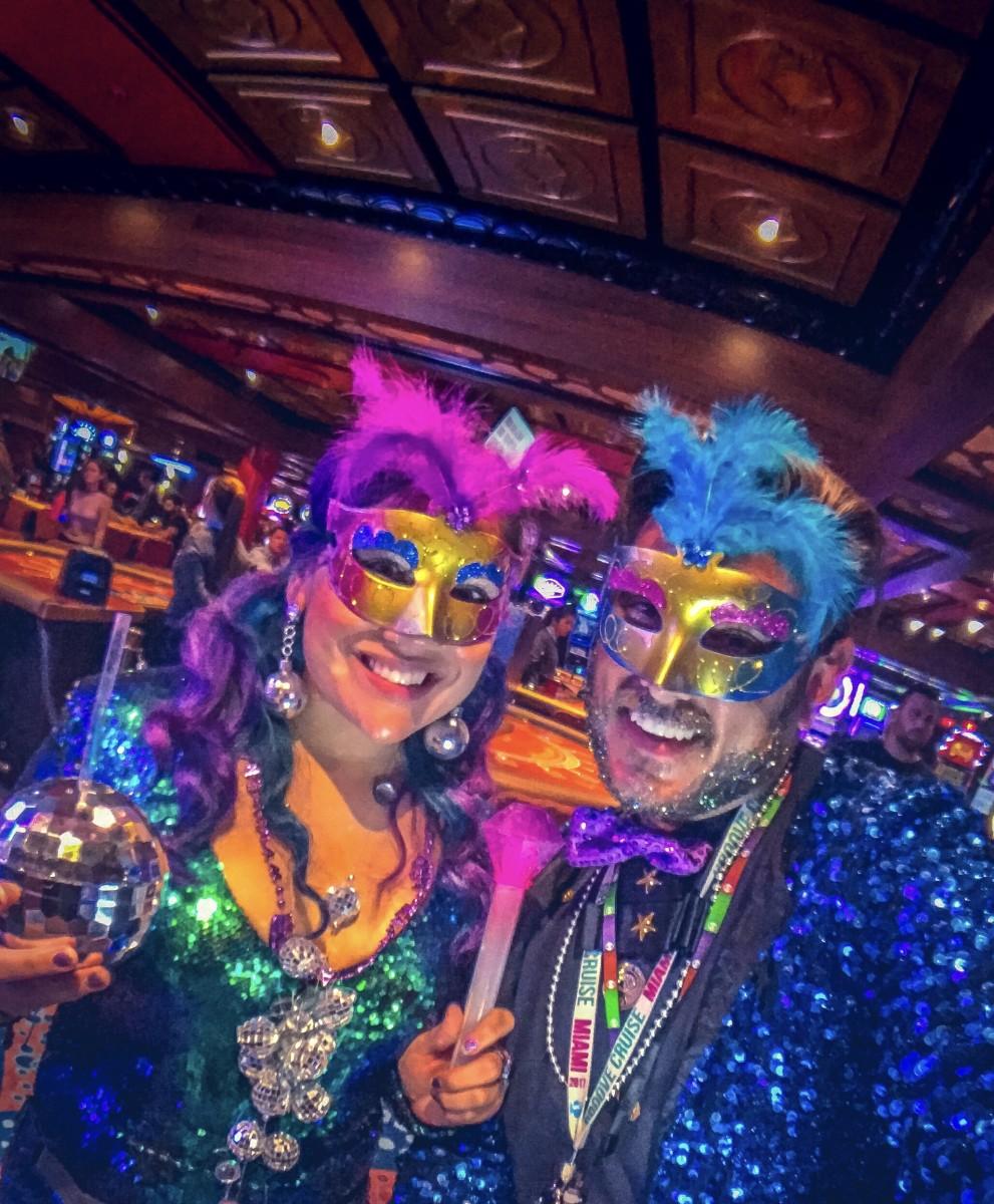 Carnaval v.s. Marid Gras costume theme