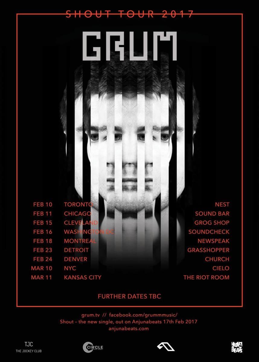 grum shout tour