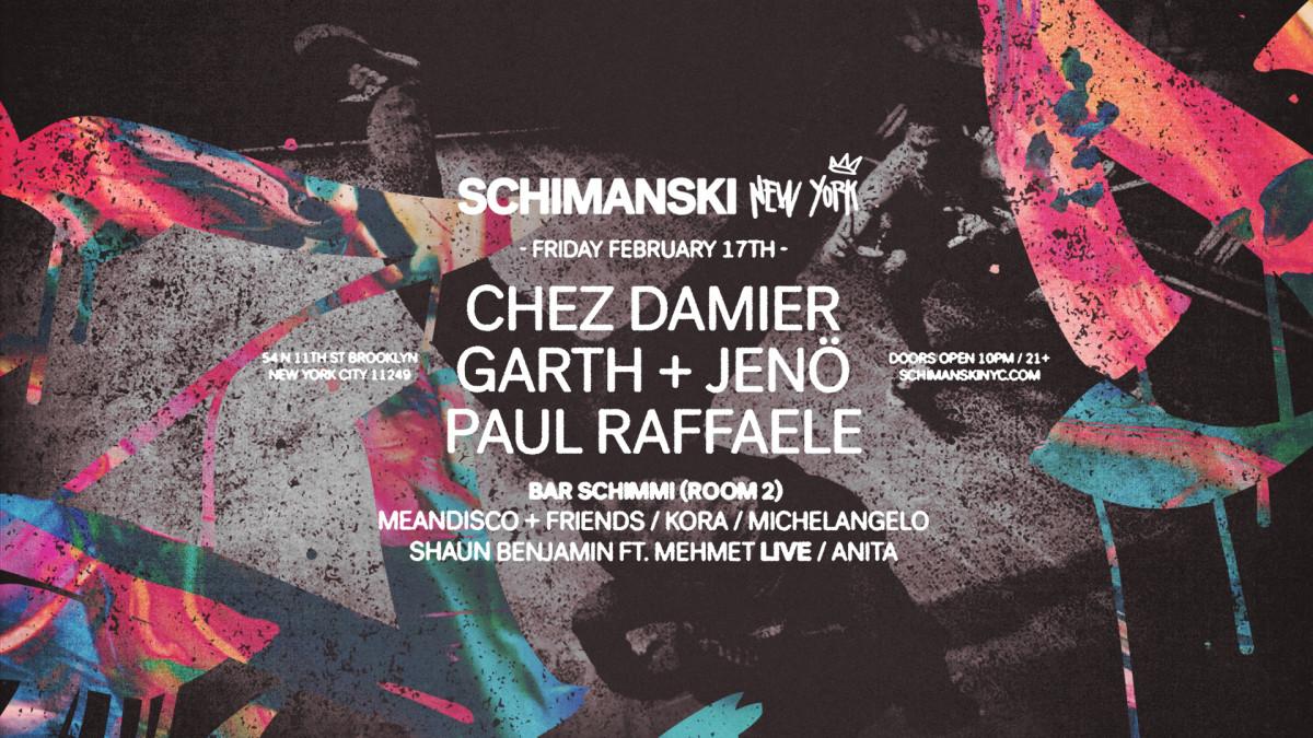 Chez Damier Schimanski