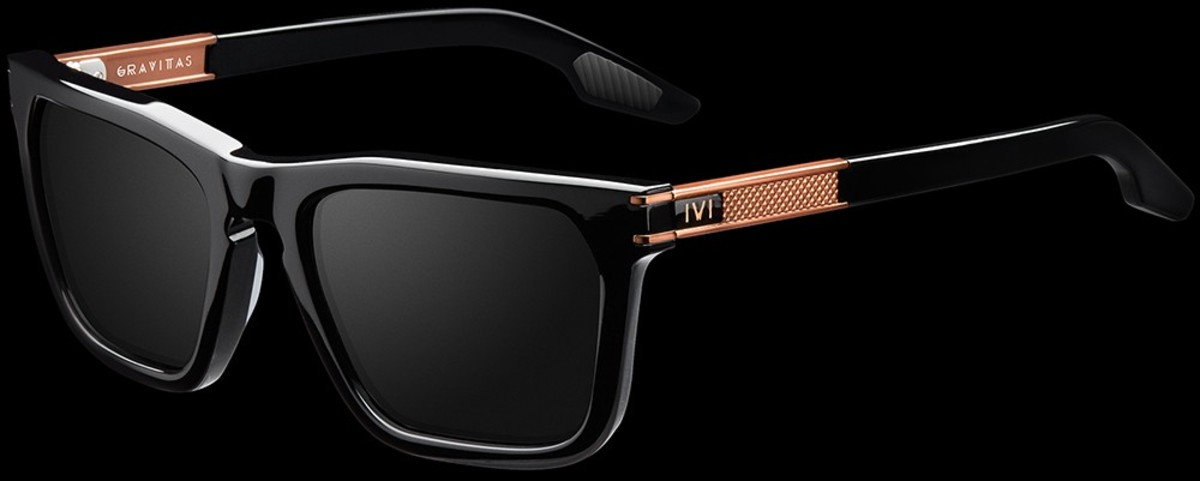 The Gravitas comes in five different colors, but this black and copper combo is the clear winner.