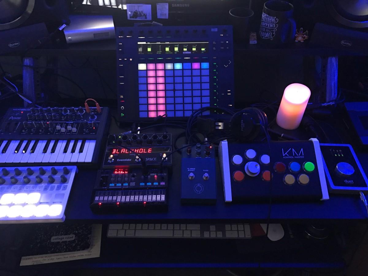 km-studio-recording