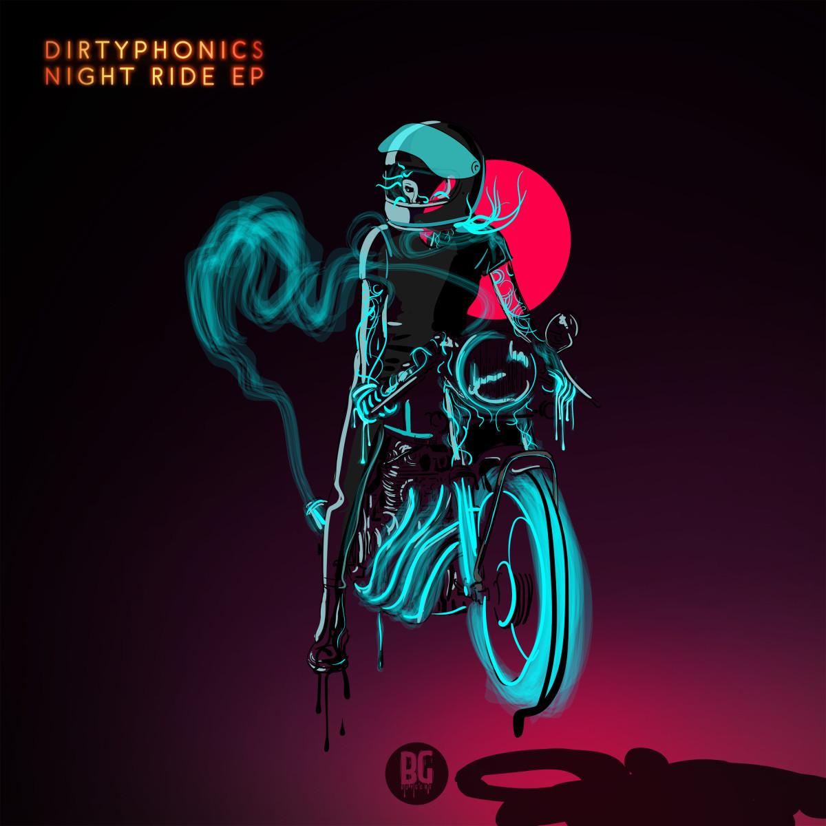 Dirtyphonics - Night Ride EP 3000x3000