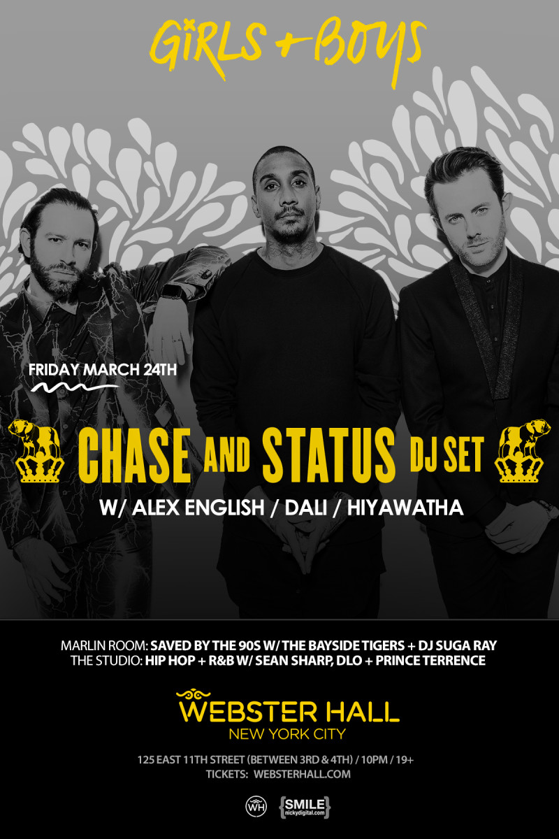 webster hall chase and status