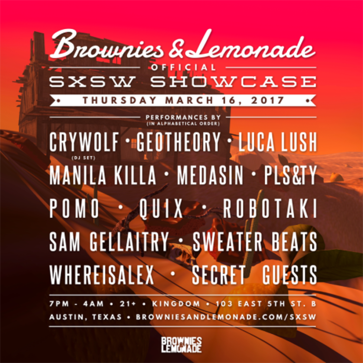 More information about their sxsw event can be found here.