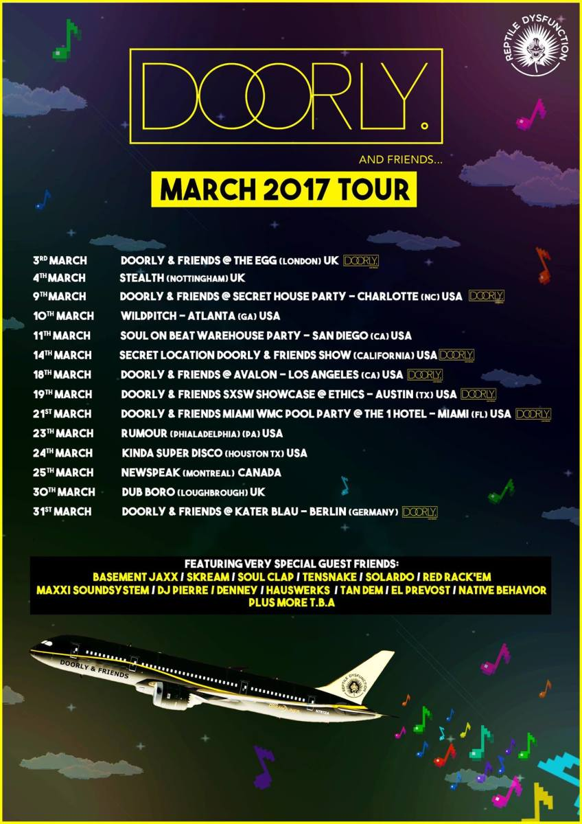 doorly and friends tour