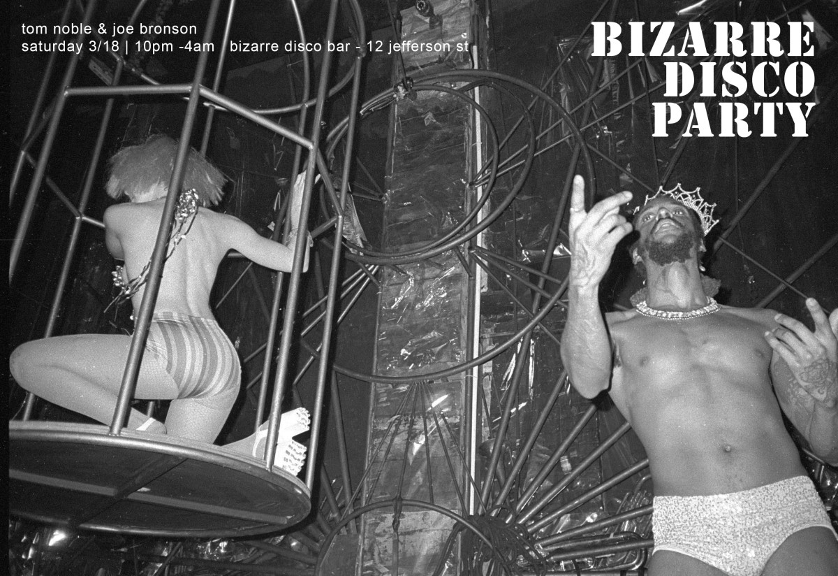 Bizarre Disco Party Flyer by Willy Soul