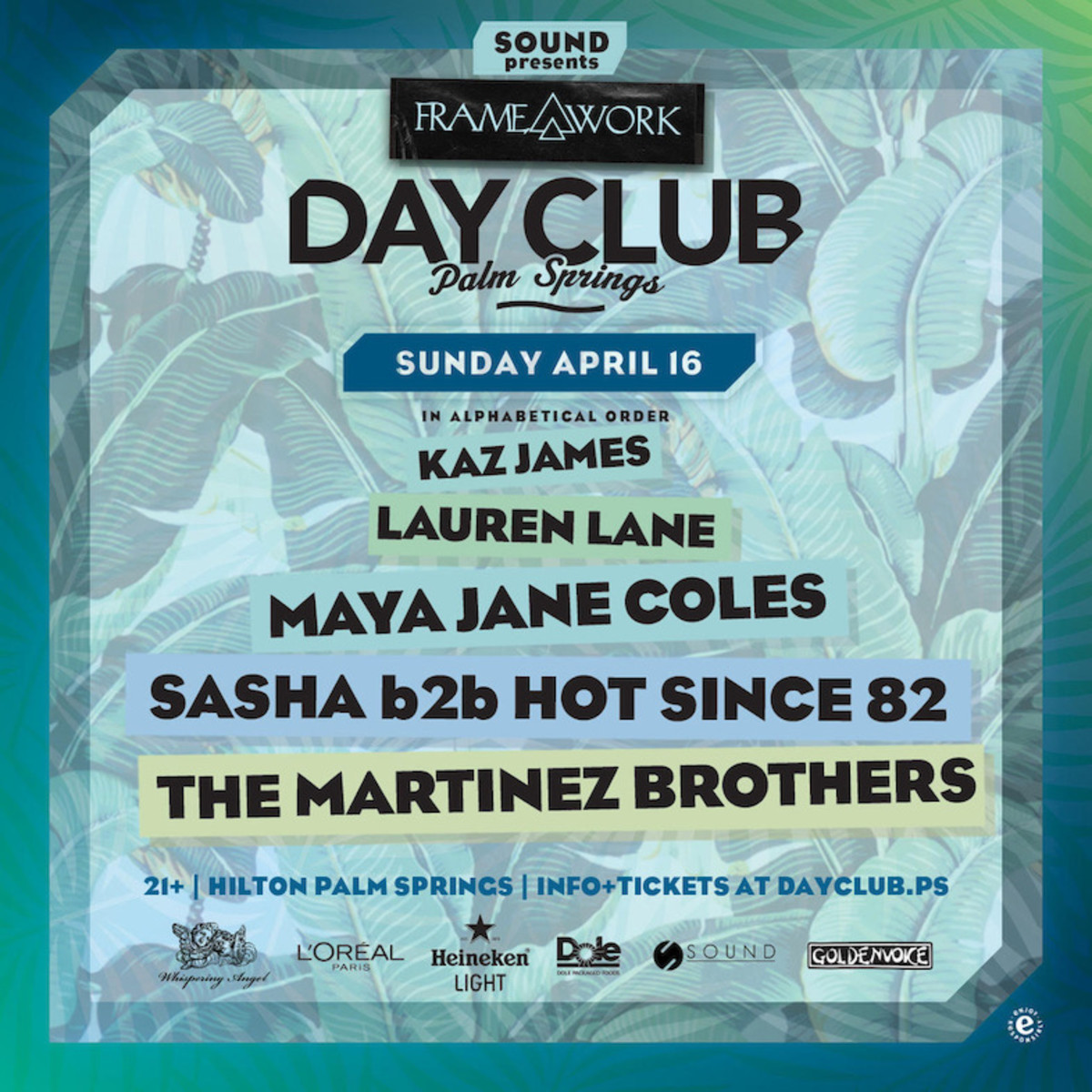 Pay-to-play: Day Club's Sunday closing party for weekend 1 will be house house house!!!