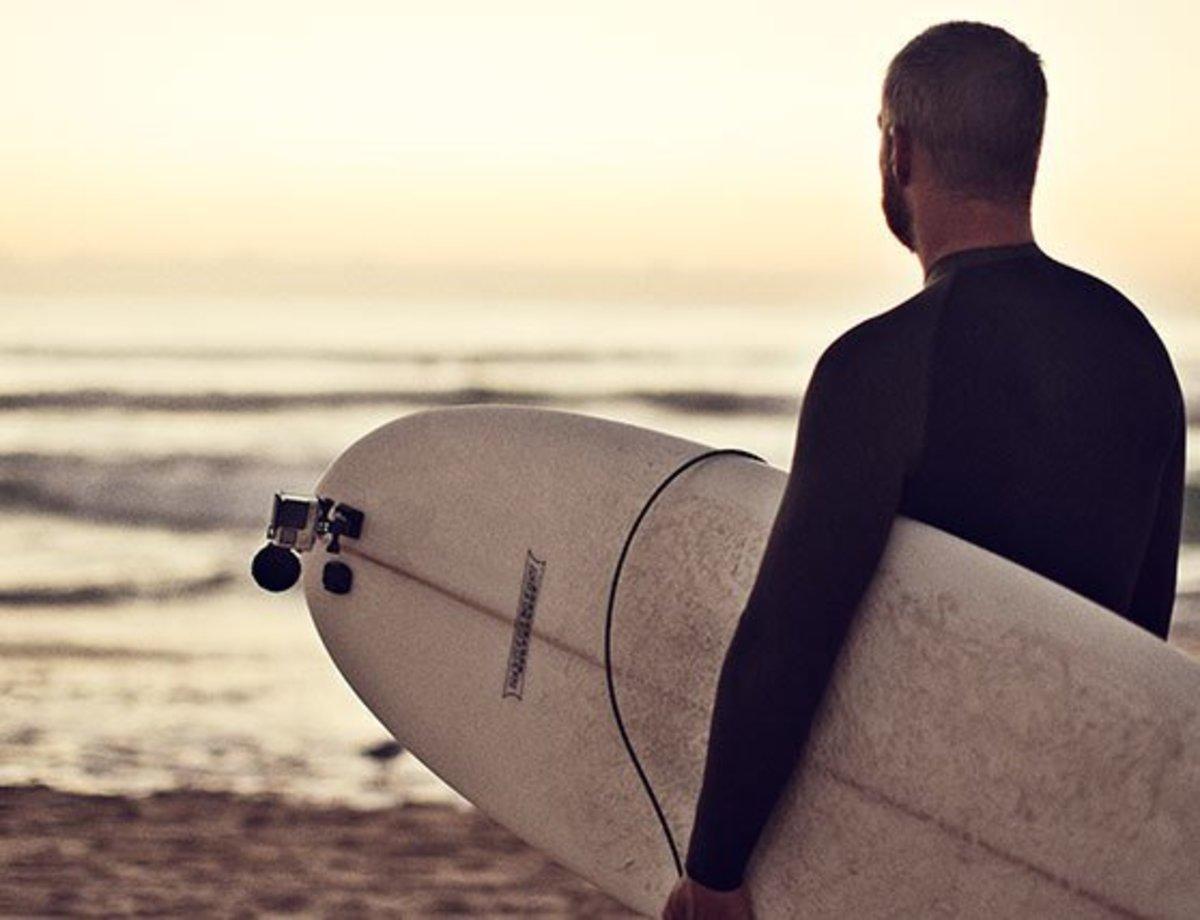 Yeah, surfing... insane.
