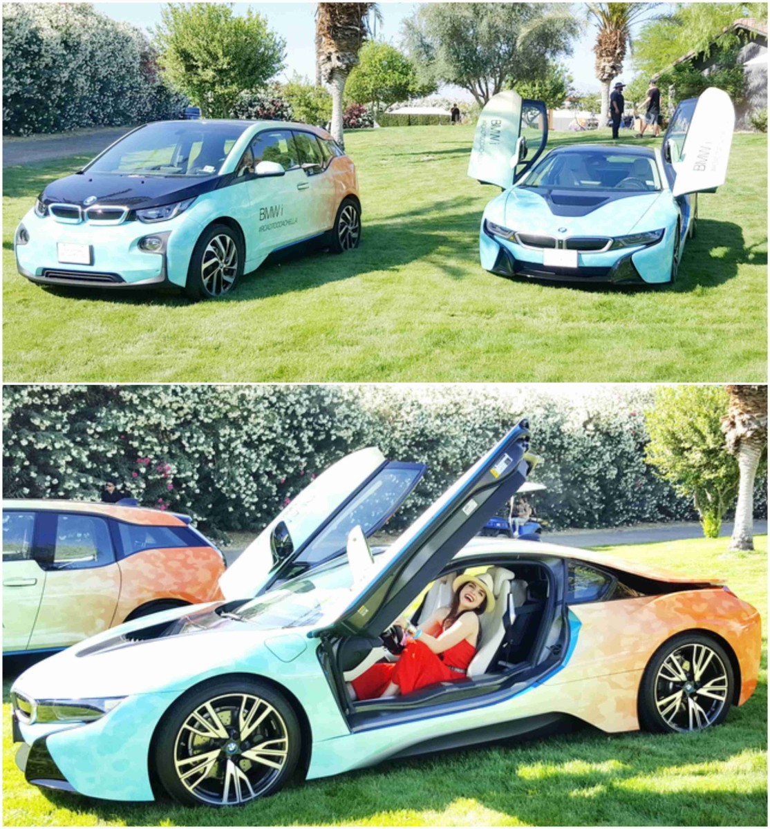 the BMW i3 is great and but it's all about the i8...