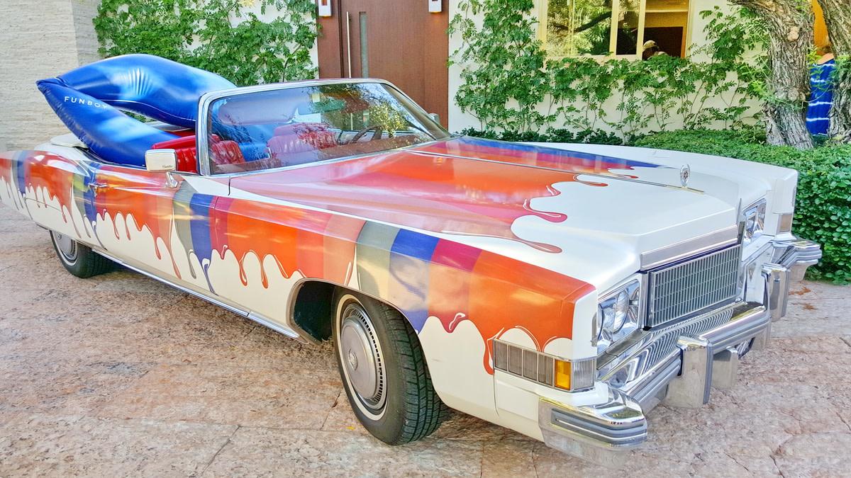 a convertible lip service Cadillac...drool...