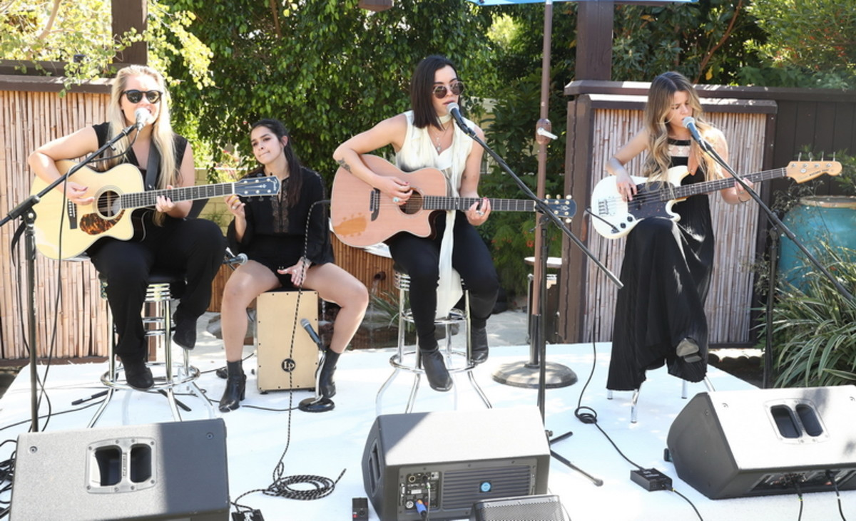 The Aces perform at the 2017 ZOEasis in Palm Springs