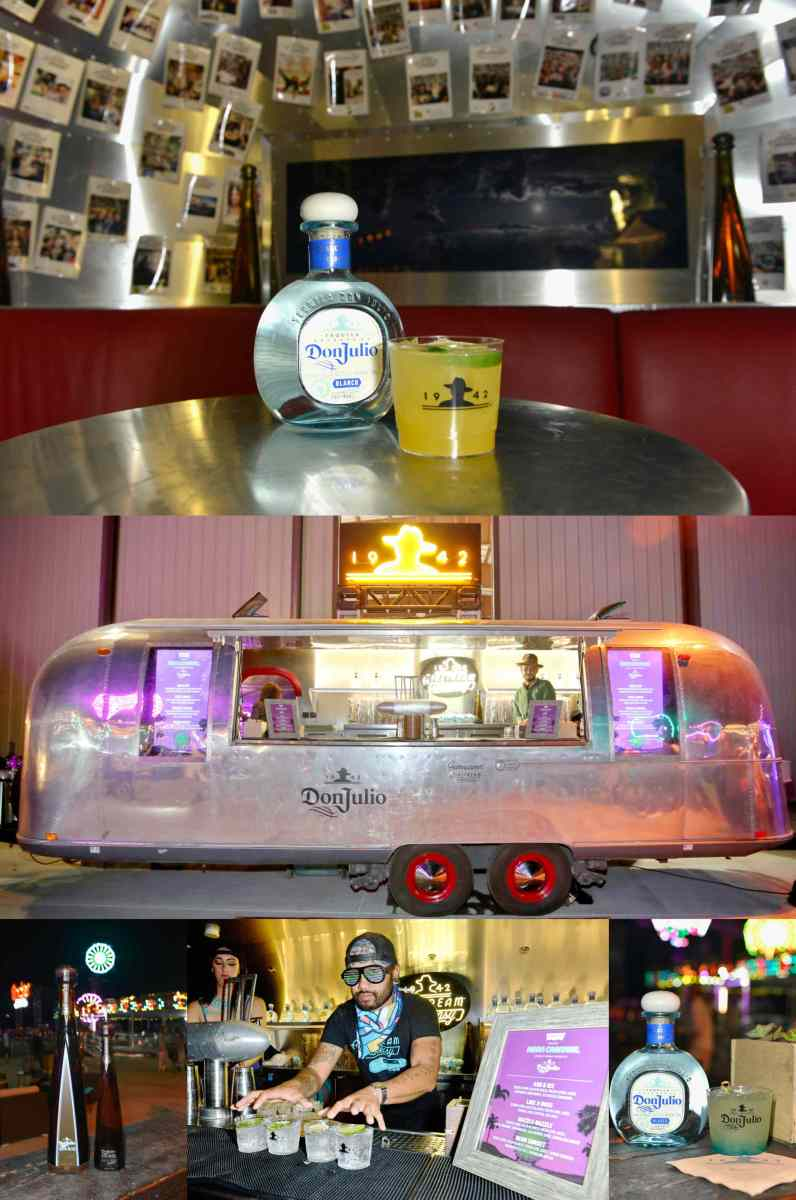 with the Don Julio tequila Speakeasy Airstream on site, things can only get crazier.
