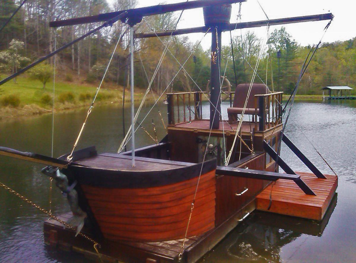 Pirate Ship close
