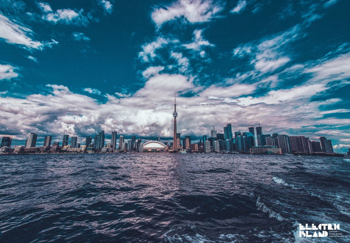 Electric Island promo - Toronto Skyline