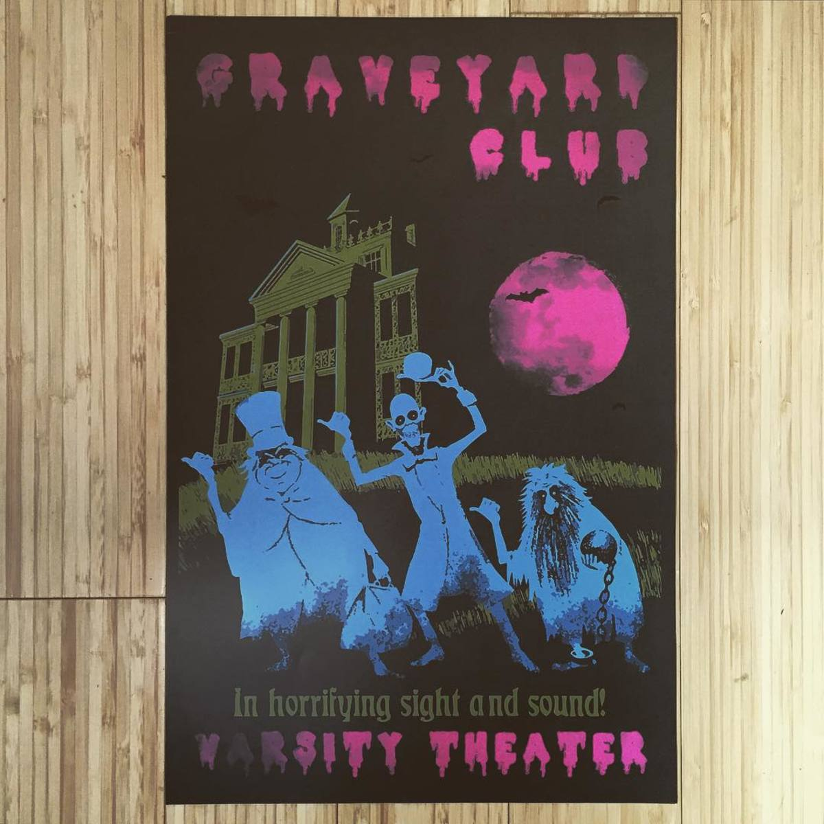 We need this Graveyard Club poster.