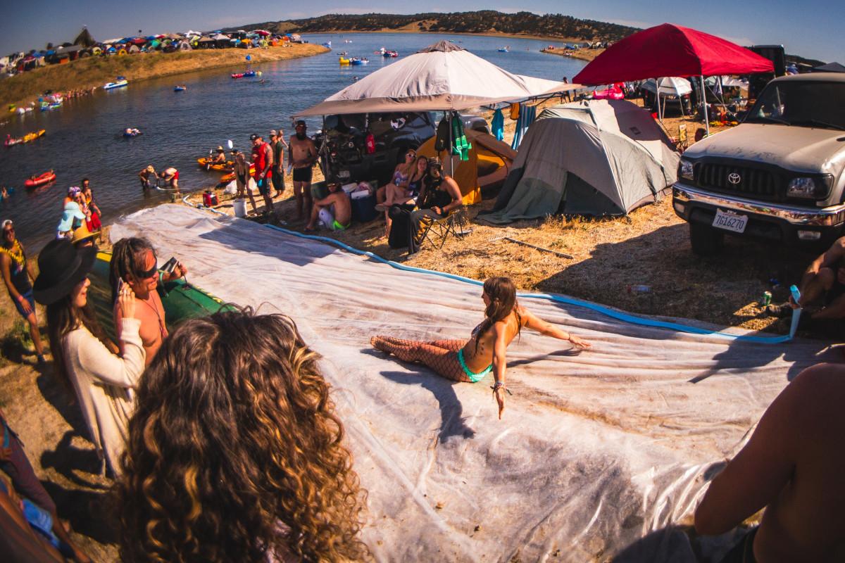 campside water slide