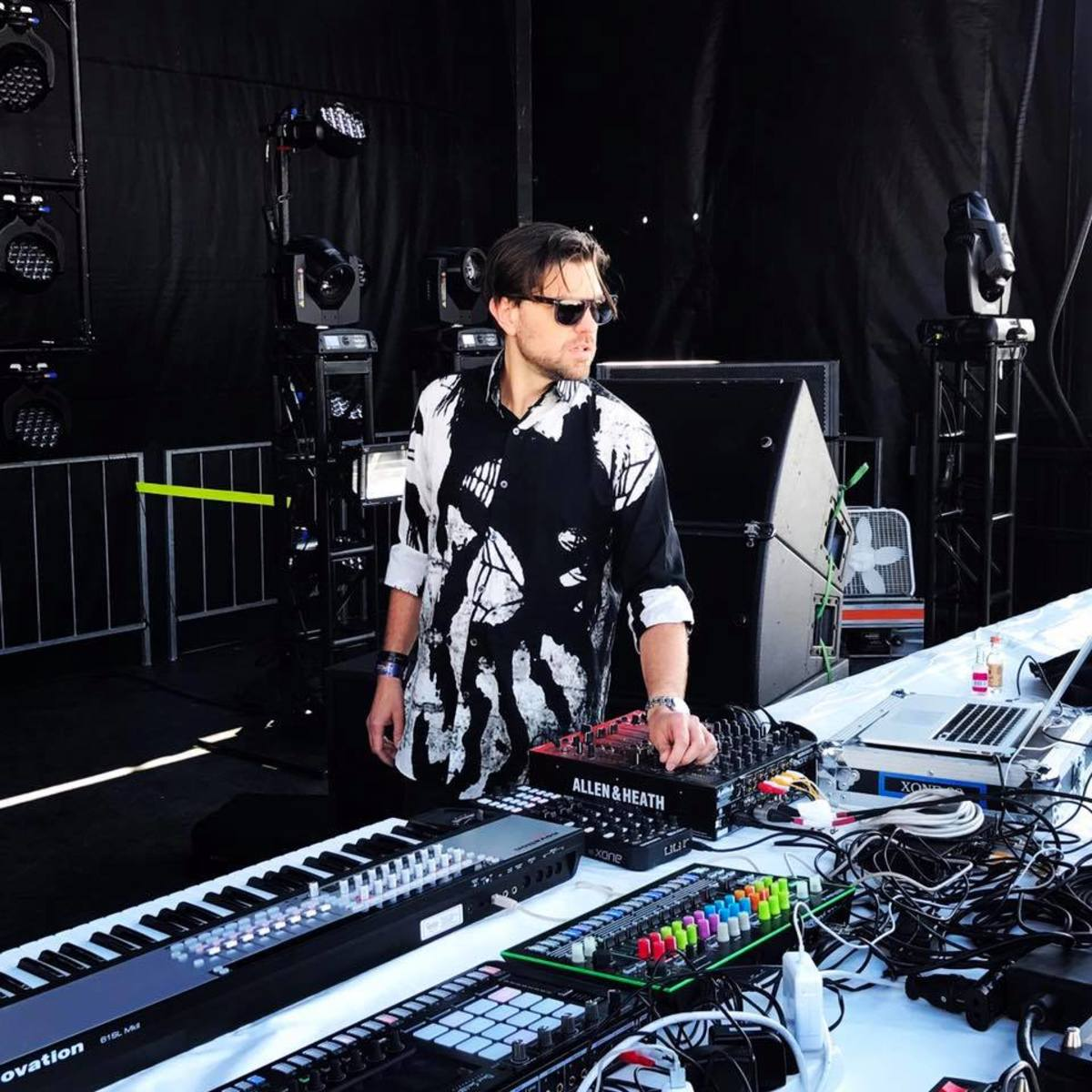 Rodriguez Jr. on stage for his Movement 2017 set
