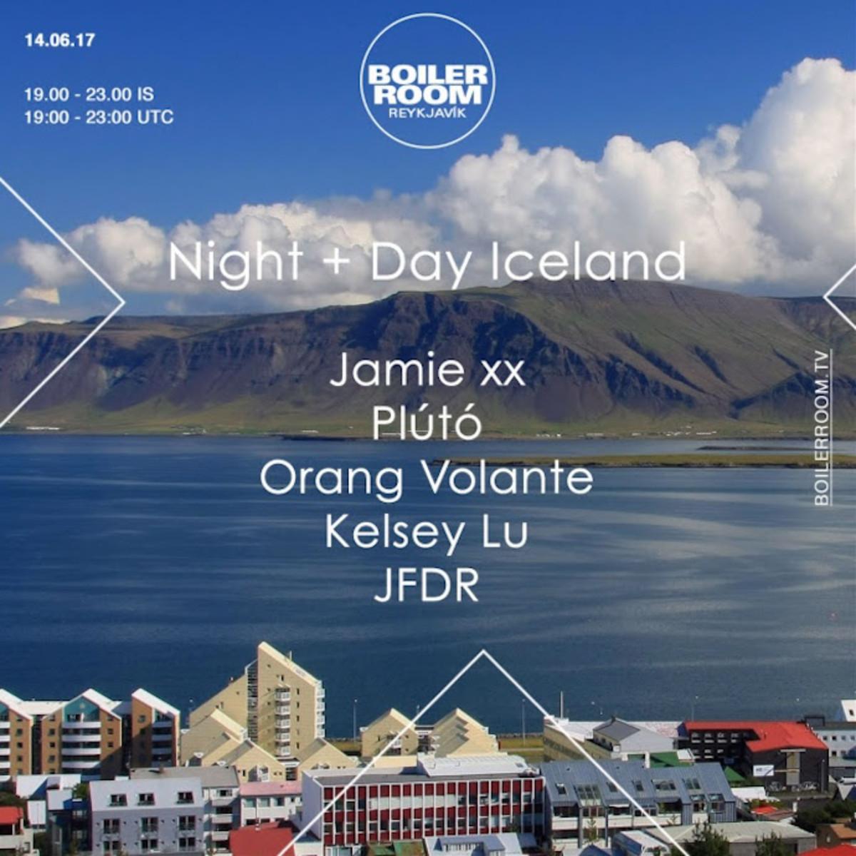 Jamie xx Boiler Room Set Iceland 2017