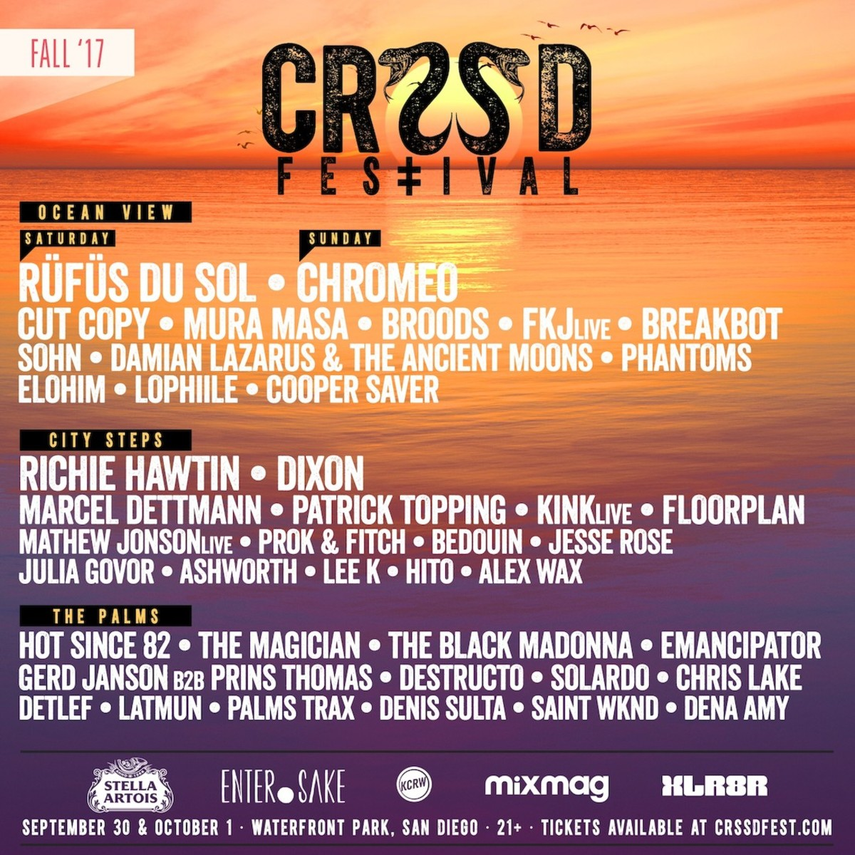 CRSSD Fall 2017 Lineup Magnetic Mag