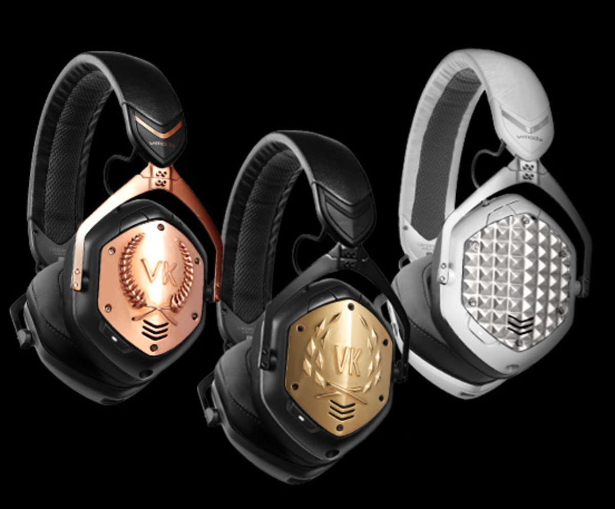 V-MODA Crossfade 2 Wireless with customized plates